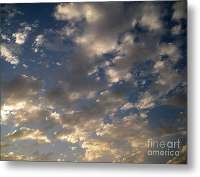 Before The Rain Metal Print by Joseph Baril