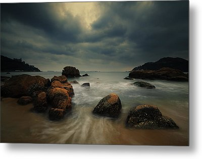 Metal Print featuring the photograph Before The Storm by Afrison Ma
