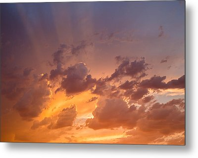 Metal Print featuring the photograph Before The Storm by Dennis Bucklin
