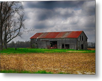 Before The Storm Metal Print by Mary Timman