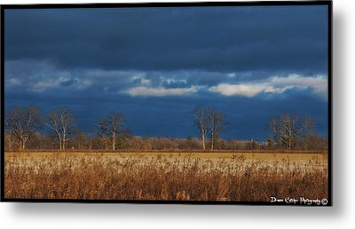 Before The Storm Metal Print by Vincent Dwyer