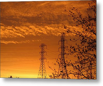 Before The Sunrise Metal Print