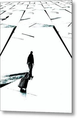 Begin Again Metal Print by Lin Haring