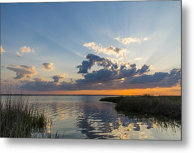 Behind The Clouds Metal Print by Gregg Southard