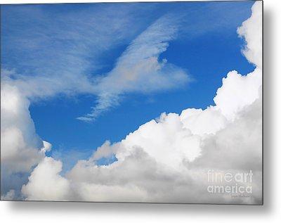 Behind The Clouds Metal Print by Susan Wiedmann