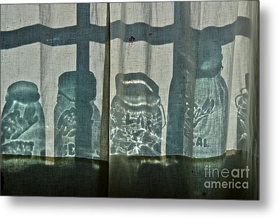 Behind The Curtains - Peoples Choice Award Metal Print