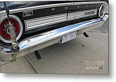 Behind The Galaxie Metal Print