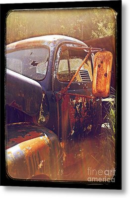 Being Old  Metal Print