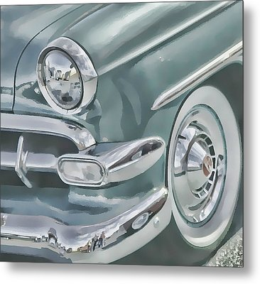 Bel Air Headlight Metal Print by Victor Montgomery