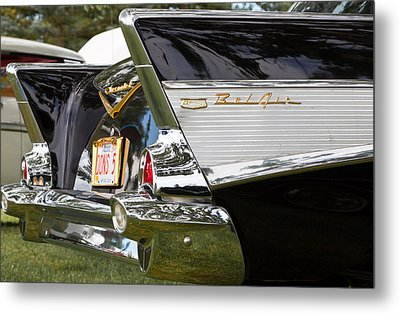 Metal Print featuring the photograph Belair Tail Fins  by Mick Flynn