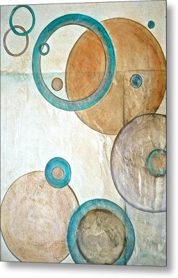 Belief In Circles Metal Print by Debi Starr