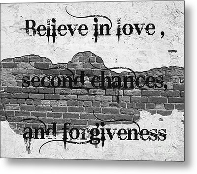 Believe Metal Print by Lorraine Heath