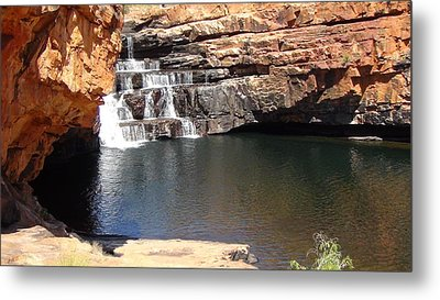 Metal Print featuring the photograph Bell Falls by Tony Mathews