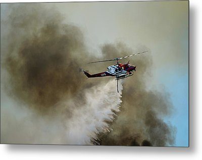 Bell Helicopter 212 Metal Print