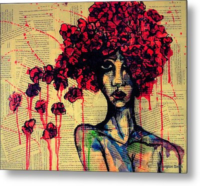 Bell Jar Metal Print by Stacey Pilkington-Smith