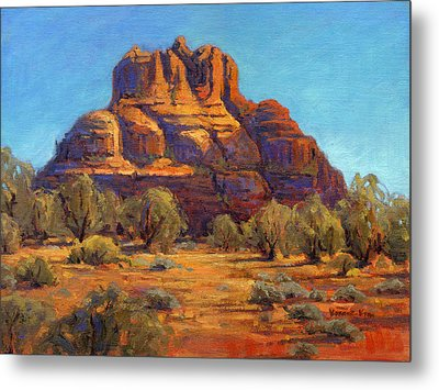 Bell Rock, Sedona Arizona Metal Print