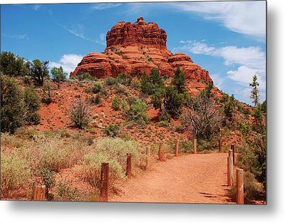 Bell Rock - Sedona Metal Print by Dany Lison