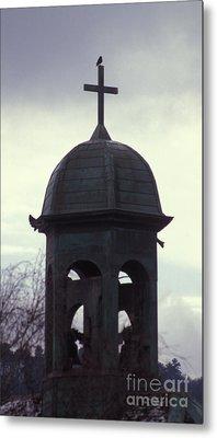 Bell Tower Of The Cathedrale Saint Jean De Besancon Metal Print