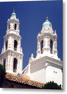Bell Towers Metal Print by Mary Bedy