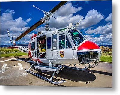 Bell Uh-1super Huey Close-up Metal Print by Scott McGuire