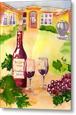 Bella Colina Winery Metal Print