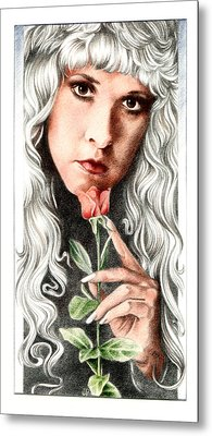 Bella Donna Metal Print by Johanna Pieterman