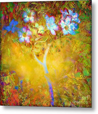 Metal Print featuring the photograph Bella Flora-tropicala by Darla Wood