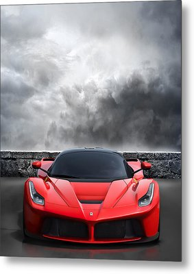 Bella Rosso Metal Print by Peter Chilelli