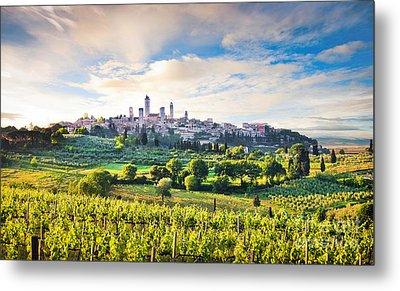 Bella Toscana Metal Print by JR Photography
