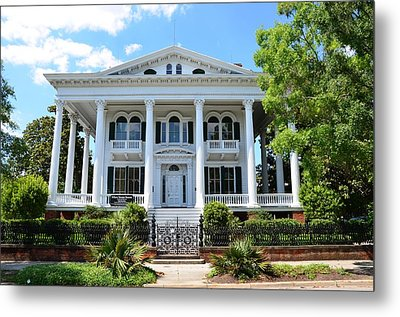 Metal Print featuring the photograph Bellamy Mansion by Bob Sample