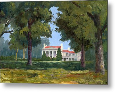 Belle Meade Mansion Nashville Tennessee Metal Print by Tommy Thompson