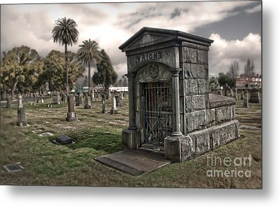 Bellevue Cemetery Metal Print by Gregory Dyer
