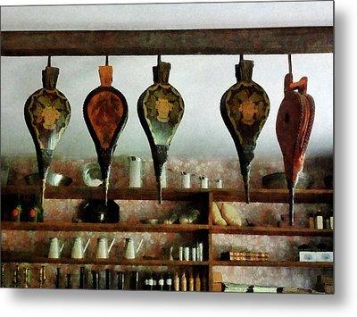 Bellows In General Store Metal Print by Susan Savad