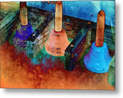 Bells Metal Print by Jan Amiss Photography