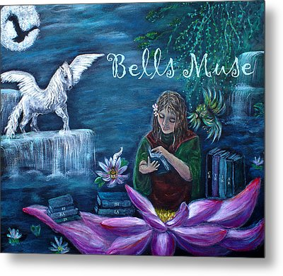 Bells Muse  Metal Print by The Art With A Heart By Charlotte Phillips
