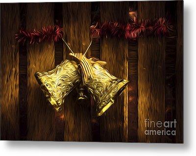 Bells Of Christmas Joy Metal Print