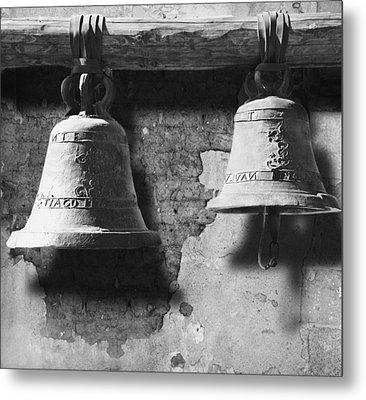 Bells Of San Juan Capistrano Metal Print by Larry Butterworth