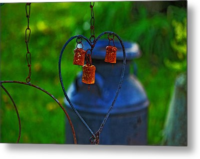 Metal Print featuring the photograph Bells by Rowana Ray