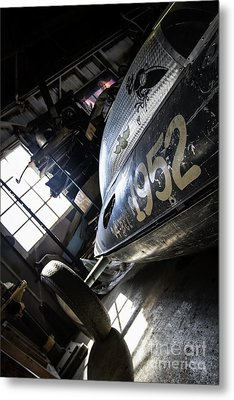 Belly Tanker - Old Crow Speed Shop- Metal And Speed Metal Print by Holly Martin
