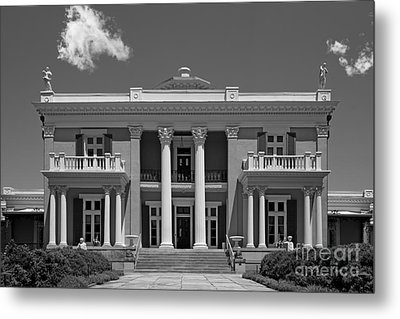 Belmont University Belmont Mansion Metal Print by University Icons