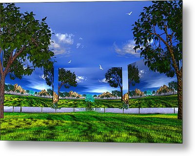Metal Print featuring the photograph Belonging by Mark Blauhoefer