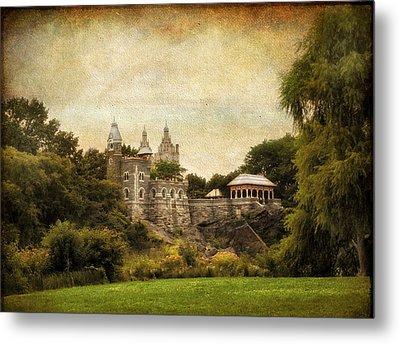 Belvedere Castle Metal Print by Jessica Jenney