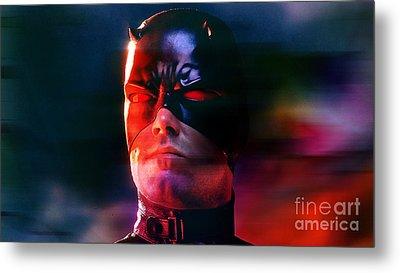Ben Affleck Daredevil Metal Print by Marvin Blaine