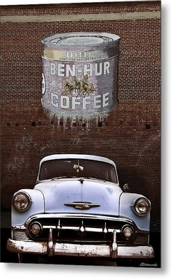Ben Hur Coffee Metal Print by Larry Butterworth