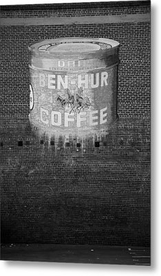 Ben Hur Coffee Metal Print by Peter Tellone