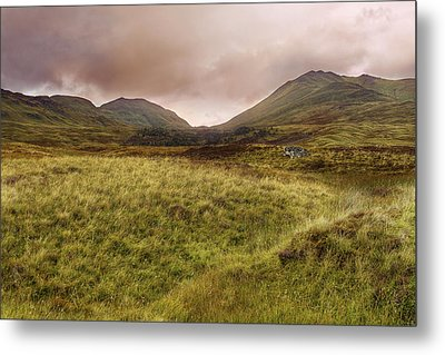 Ben Lawers - Scotland - Mountain - Landscape Metal Print by Jason Politte