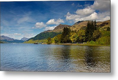 Metal Print featuring the photograph Ben Lomond by Stephen Taylor