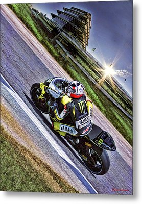 Ben Spies At Indy Metal Print