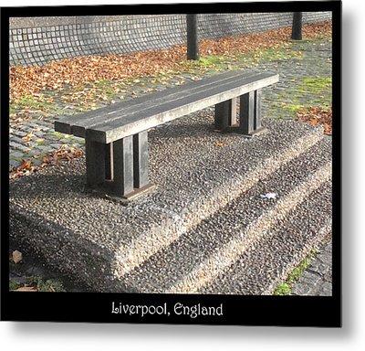 Bench #19 Metal Print by Roberto Alamino