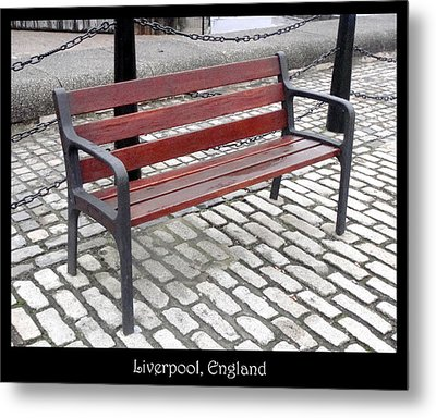 Bench #26 Metal Print by Roberto Alamino